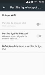 Alcatel Pixi 4 - Wi-Fi - Como usar seu aparelho como um roteador de rede wi-fi - Etapa 6