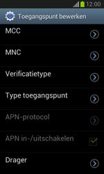 Samsung I8260 Galaxy Core - Internet - handmatig instellen - Stap 17