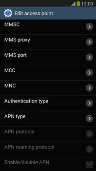 Samsung N9005 Galaxy Note III LTE - Internet - Manual configuration - Step 12