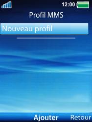 Sony Ericsson W100i Spiro - Mms - Configuration manuelle - Étape 6
