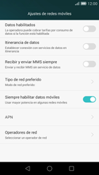 Huawei Ascend G7 - Internet - Activar o desactivar la conexión de datos - Paso 7