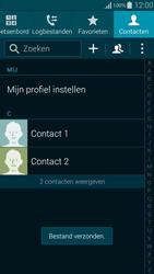 Samsung G850F Galaxy Alpha - Contactgegevens overzetten - delen via Bluetooth - Stap 11