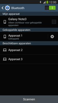 Samsung N9005 Galaxy Note III LTE - Bluetooth - Koppelen met ander apparaat - Stap 8