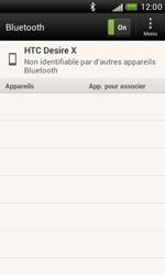 HTC T328e Desire X - Bluetooth - connexion Bluetooth - Étape 8