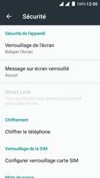 Wiko Freddy - Sécuriser votre mobile - Activer le code de verrouillage - Étape 5
