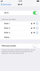 Apple iPhone 6s - iOS 12 - Wi-Fi - Como ligar a uma rede Wi-Fi -  5