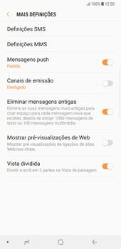 Samsung Galaxy Note 8 - SMS - Como configurar o centro de mensagens -  7