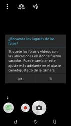 Sony Xperia E4g - Funciones básicas - Uso de la camára - Paso 4