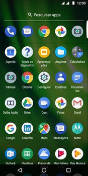 Motorola Moto G6 Play - Wi-Fi - Como usar seu aparelho como um roteador de rede wi-fi - Etapa 3