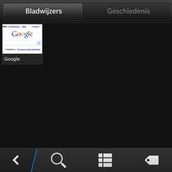 BlackBerry Q10 - Internet - Hoe te internetten - Stap 8