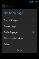 Acer Liquid Z3 - Internet - Manual configuration - Step 25