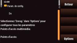 Nokia N97 Mini - MMS - Configuration automatique - Étape 4