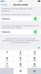 Apple iPhone 6 iOS 9 - Applications - Créer un compte - Étape 16
