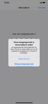 Apple iPhone XR - iOS 13 - Beveiliging - stel in of wijzig pincode voor je toestel - Stap 6