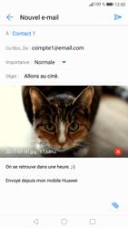 Huawei P9 Lite - Android Nougat - E-mail - envoyer un e-mail - Étape 15