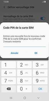 Samsung Galaxy S9 Android Pie - Sécurité - modifier SIM PIN - Étape 10
