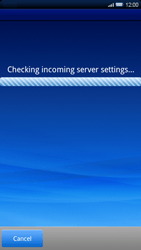 Sony Xperia X10 - E-mail - Manual configuration - Step 8