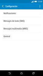 HTC One M8 - Mensajería - Configurar el equipo para mensajes de texto - Paso 7