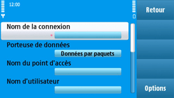 Nokia N97 - MMS - configuration manuelle - Étape 15