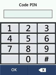 LG T580 - Sécuriser votre mobile - Activer le code de verrouillage - Étape 8