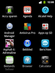 Alcatel OT-903 - Internet - Hoe te internetten - Stap 2