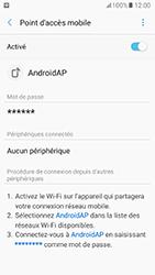 Samsung Galaxy A5 (2017) (A520) - Internet et connexion - Partager votre connexion en Wi-Fi - Étape 13