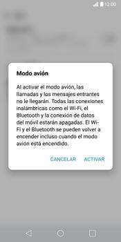 LG G6 - Funciones básicas - Activar o desactivar el modo avión - Paso 5
