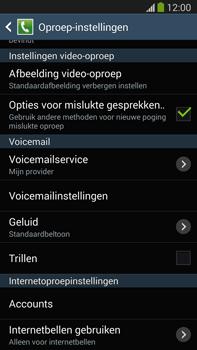 Samsung N9005 Galaxy Note III LTE - Voicemail - handmatig instellen - Stap 6