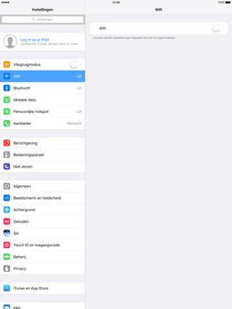 Apple iPad Pro 12.9 inch (Model A1671) - WiFi - Handmatig instellen - Stap 4