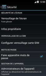 Bouygues Telecom Bs 403 - Sécuriser votre mobile - Personnaliser le code PIN de votre carte SIM - Étape 5