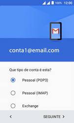 """Alcatel Pixi 4 (4"""") - Email - Configurar a conta de Email -  12"""
