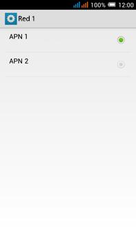Alcatel Pop C9 - Internet - Configurar Internet - Paso 20
