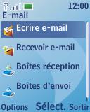 Nokia 3110 classic - E-mail - envoyer un e-mail - Étape 4