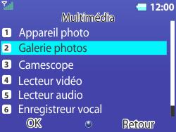 Bouygues Telecom Bc 311 - Photos, vidéos, musique - Envoyer une photo via Bluetooth - Étape 4