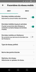 Huawei Y5 (2018) - Internet et connexion - Désactiver la connexion Internet - Étape 6