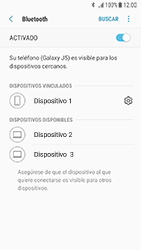 Samsung Galaxy J5 (2017) - Bluetooth - Conectar dispositivos a través de Bluetooth - Paso 9