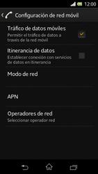 Sony Xperia L - Internet - Activar o desactivar la conexión de datos - Paso 6
