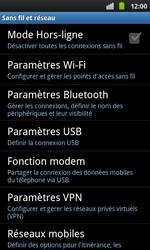 Samsung I9001 Galaxy S Plus - Wifi - configuration manuelle - Étape 4