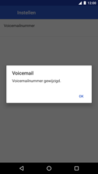 LG Nexus 5x - Android Nougat - Voicemail - Handmatig instellen - Stap 11