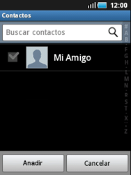 Samsung S5570 Galaxy Mini - Mensajería - Escribir y enviar un mensaje multimedia - Paso 5