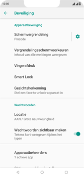 Wiko View 2 Plus - Beveiliging - stel in of wijzig pincode voor je toestel - Stap 13