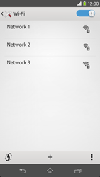 Sony D2303 Xperia M2 - WiFi and Bluetooth - Manual configuration - Step 6