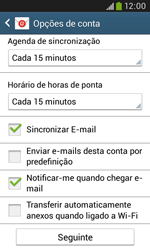 Samsung Galaxy Trend Plus - Email - Adicionar conta de email -  8