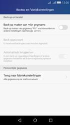 Huawei Y6 - Toestel - Fabrieksinstellingen terugzetten - Stap 5