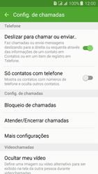 Samsung Galaxy J3 Duos - Chamadas - Como bloquear chamadas de um número específico - Etapa 7
