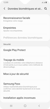 Samsung Galaxy A20e - Appareil - configurer Localiser mon appareil - Étape 5