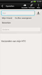 HTC S728e One X Plus - E-mail - E-mail versturen - Stap 7