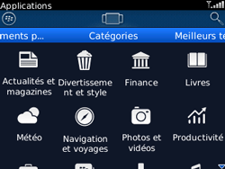 BlackBerry 8520 - Applications - Télécharger une application - Étape 9