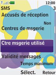 Nokia 7310 supernova - SMS - Configuration manuelle - Étape 10