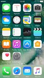 Apple iPhone 5 iOS 10 - E-mail - handmatig instellen (yahoo) - Stap 1